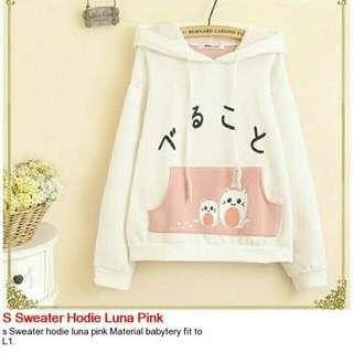 Sweater Hodie Luna