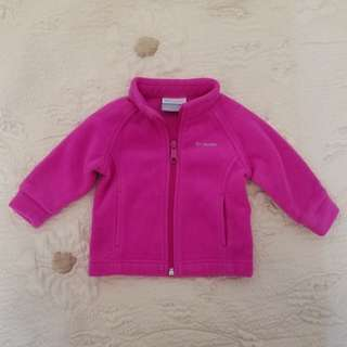 Columbia baby girl's  Benton Springs fleece jacket