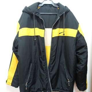 Yellow Nike Jacket