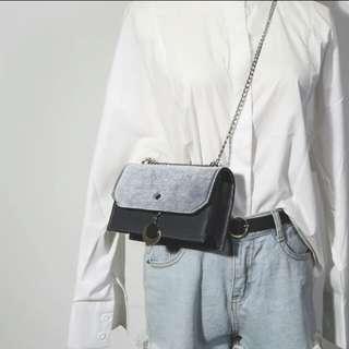 🚚 韓版磁扣單肩方包