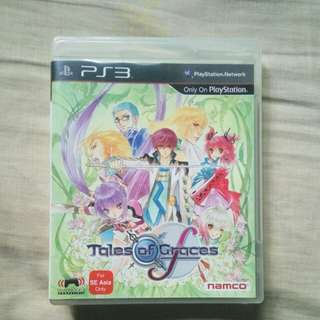 Tales of graces F PlayStation 3 PS3 English