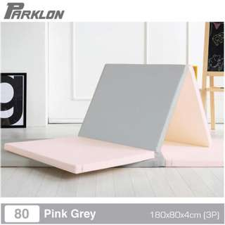 Brand New Parklon Playmat- Space folder, Pink/Grey, New in Box, Never Used