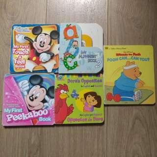 全套迪士尼故事及教材英文書, 訓練小朋友認識及思考