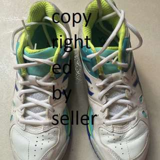 Almost Brand New Asics Netball Shoes Brand New Worn Once Only No Stain