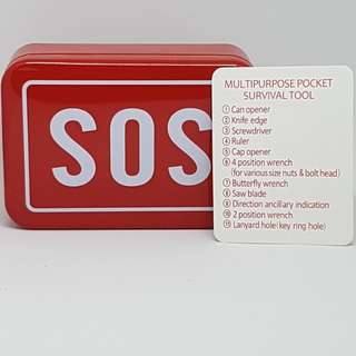 S.o.s. multifunctional survival kit