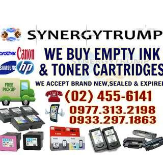 HIGHEST PRICE BUYER OF EMPTY INK CARTRIDGES
