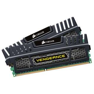 8GB (2 x 4GB) Corsair Vengeance DDR3-1600 Desktop RAM (Black)