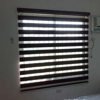 Combination Window Blinds - Roll Up