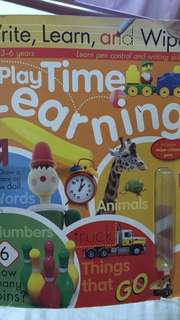 Write, Learn and Wipe Play time learning