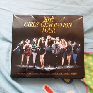 少女時代韓國二巡CD版2011 Girls' Generation Tour 9成5新