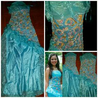 Blue Gown (preloved)