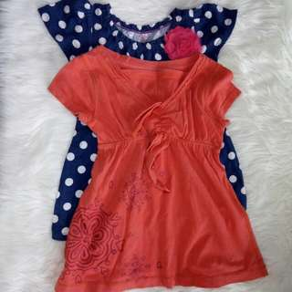Baby girl top (2 pcs)