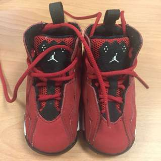 Jordan baby rubber shoes