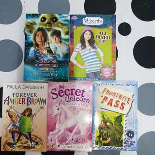 5 assorted titles (5books)