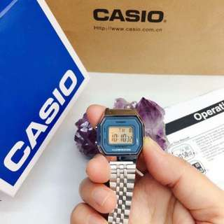 Casio Waterproof Silver Watch