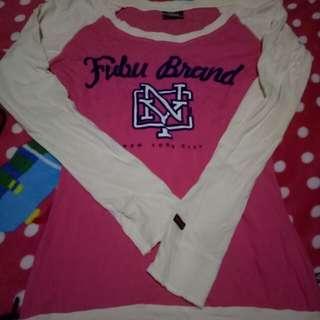 Fubu shirt with long sleeve