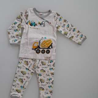 Long Sleeve Boy Pyjamas