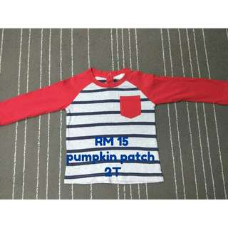 Pumpkin Patch T-shirt for Boy (Preloved  - 2T/24M)