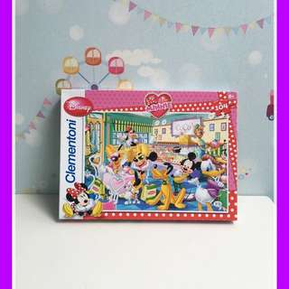 Disney Mickey Minnie Mouse Super Colour Clementoni Puzzle