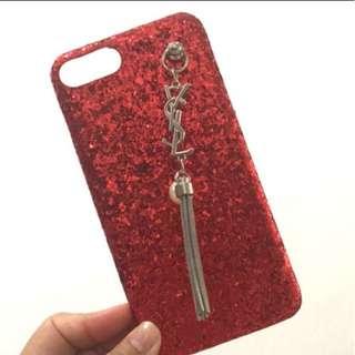 Case YSL red iphone 7 plus