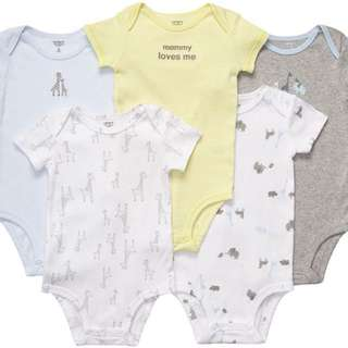 Baby Rompers - 5 pieces