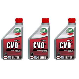 Pertua Exello CVO Diesel Engine Oil SAE15W/40 1L (Bundle of 3)