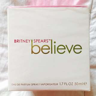 Authentic Britney Spears Believe Perfume 50ml.