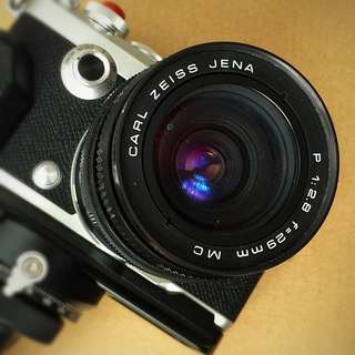 Super Rare Carl Zeiss Jena 29mm f2.8 MC