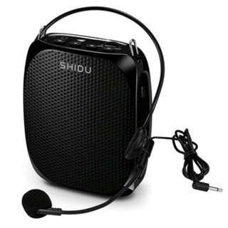 Voice Amplifier Speaker Microphone Sleek Design Lightweight Wired Personal Portable PA System For Teachers, Speakers, Tour Guides