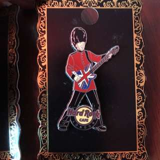 Hard Rock Pin (London + Manchester) Limited Edition