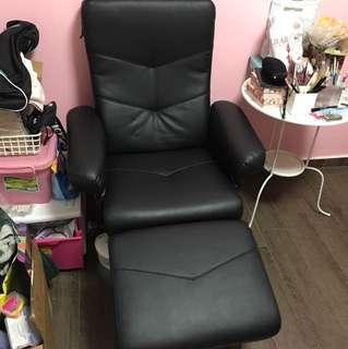 Single PU leather chair