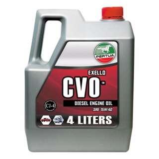 Pertua Exello CVO Diesel Engine Oil SAE15W/40 4L