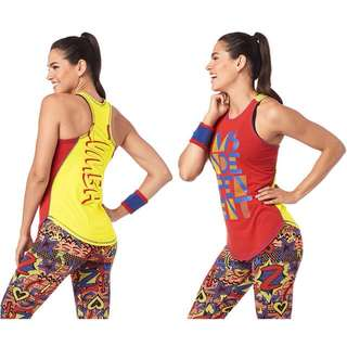[NEW PO] Zumba Ms. Independent Tight Tank