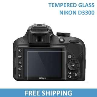 Nikon D3300 Tempered Glass Screen DSLR