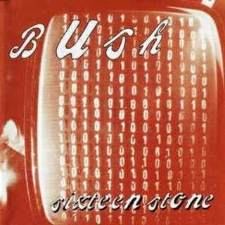 arthcd BUSH Sixteen Stone CD + Bonus CD EP
