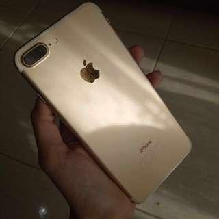 Iphone 7plus 256GB Gold MULUS