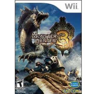 Monster Hunter 3 (Nintendo Wii, 2009)