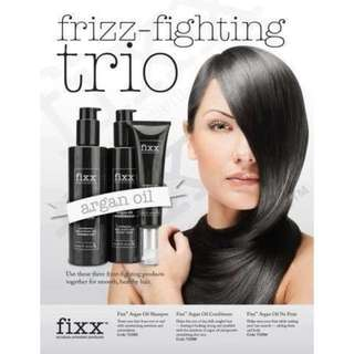 Frizz-Fighting Trio - Fixx Solution