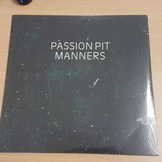 Passion Pit Manners Vinyl LP Sealed Brand New Rare