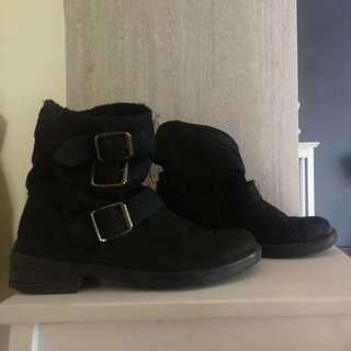 Topshop wool boots