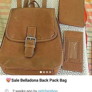 Belladona mini backpack