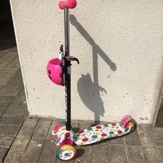小朋友滑板车