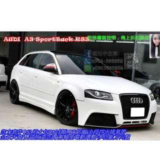 AUDI A3 SportBack RS3