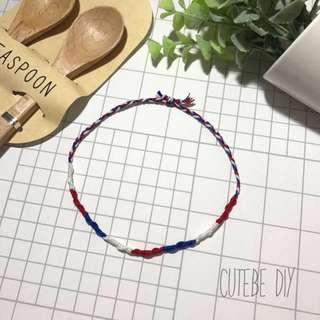 • 純。手織漸變色手/腳繩 •