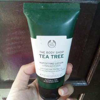 ORIGINAL The Body Shop Tea Tree Day Cream