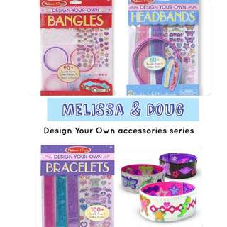 Clearance! BN Melissa and Doug Design your own accessories craft