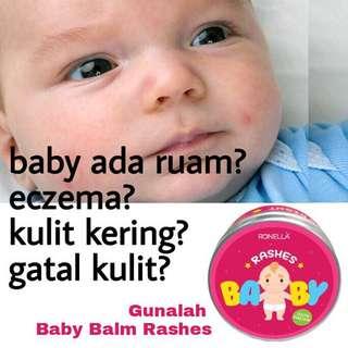 Baby balm rashes