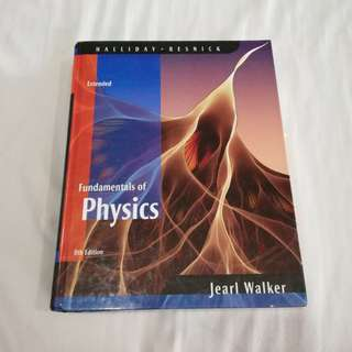 Fundamentals of Physics 8th Edition