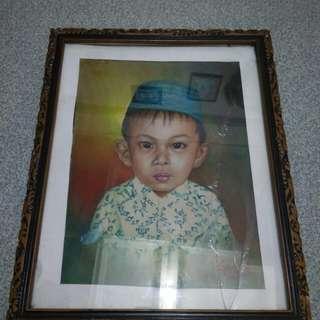 #ImlekHoki Lukisan anak soleh