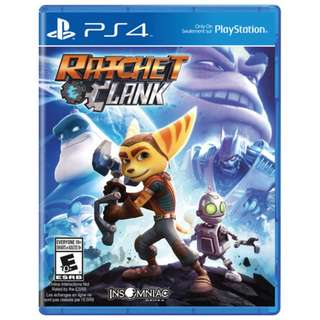 (Brand New Sealed) PS4 Game Ratchet and Clank.